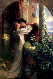 Romeo and Juliet by Frank Dicksee, 1884