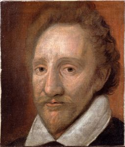 Richard Burbage - not quite how we picture Romeo today